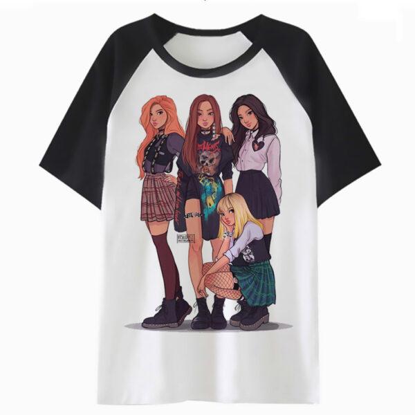 BlackPink Group Illustration T-Shirt