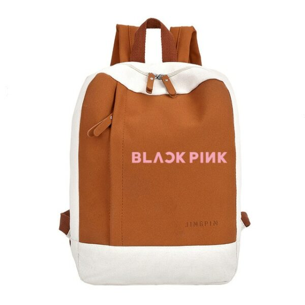 Chic Canvas BlackPink Backpack