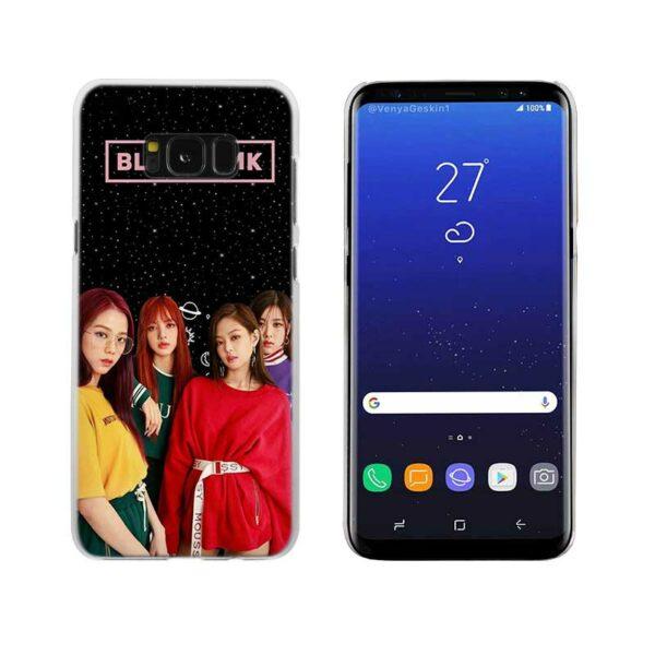 Samsung Case – BlackPink Together With Black Background