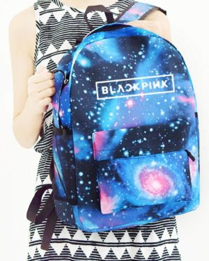 3D BlackPink Backpack – Space Blue