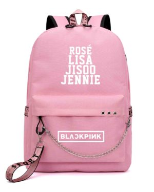 Members Name BlackPink Backpack