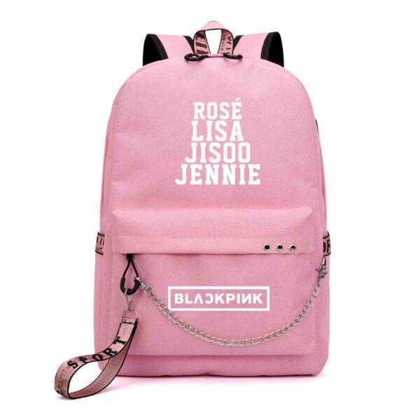 Members Name BlackPink Backpack