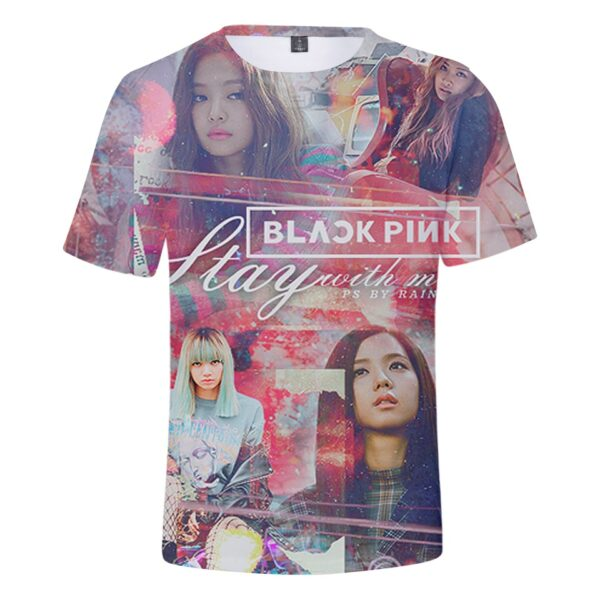3D BlackPink T-Shirt – Stay With Me