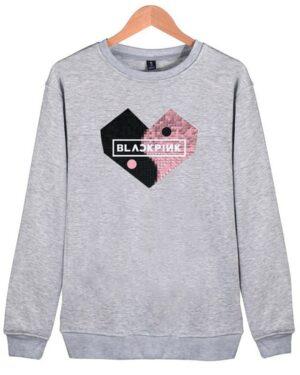 BlackPink Sweater Yin-Yang Heart