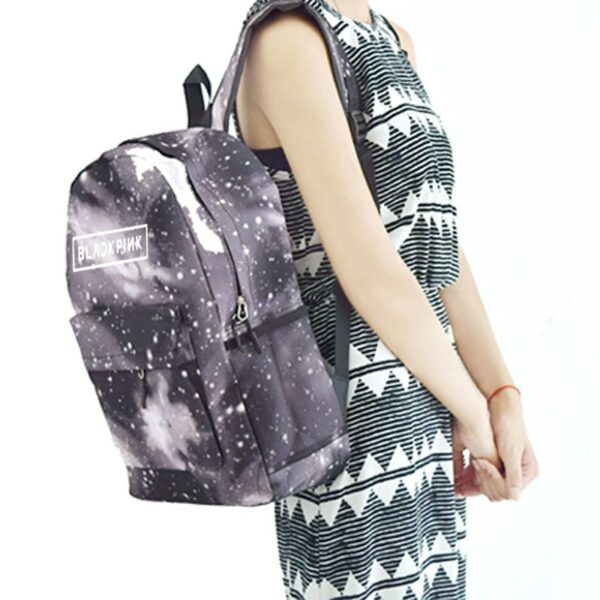 3D BlackPink Backpack – Night Design