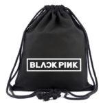 BlackPink Drawstring Bag