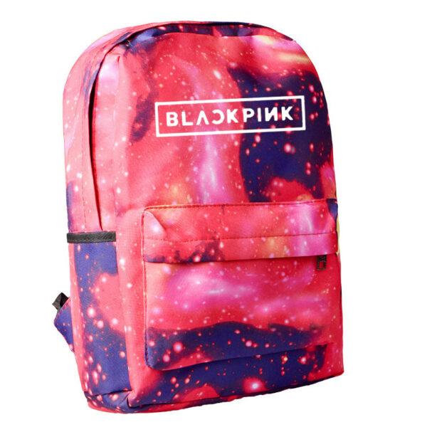 3D BlackPink Backpack – Gloomy Red Design