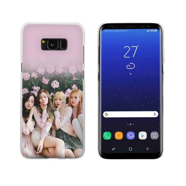 Samsung Case – BlackPink With Flowers