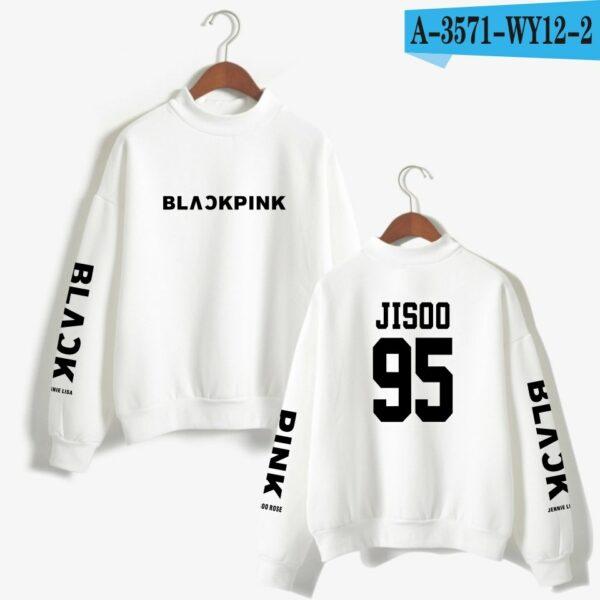 White BlackPink Sweater
