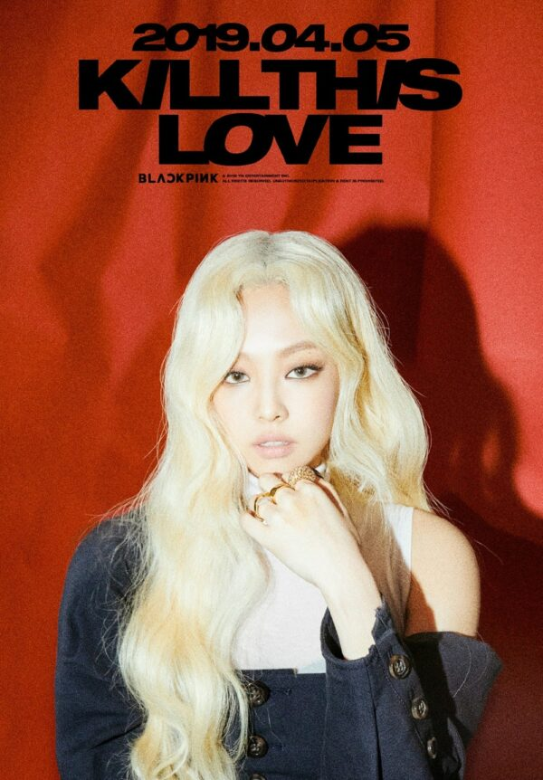 SPECIAL – Kill This Love Jennie Poster