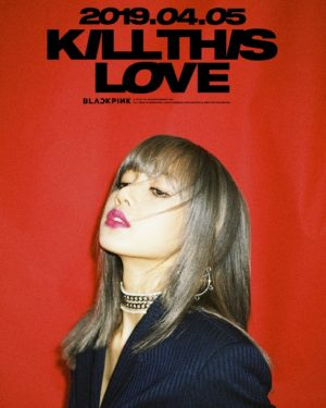 SPECIAL – Kill This Love Lisa Poster