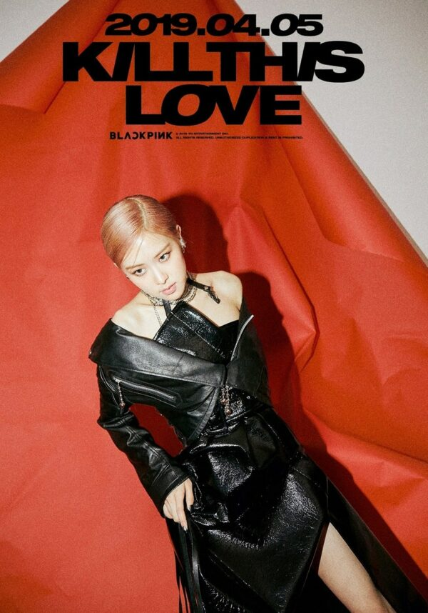 SPECIAL – Kill This Love Rose Poster