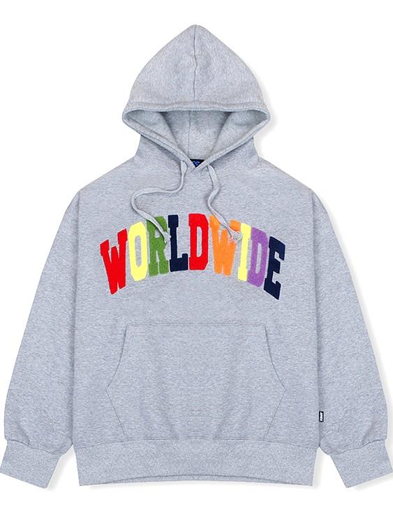 Grey Worldwide Hoodie | Baekhyun – EXO