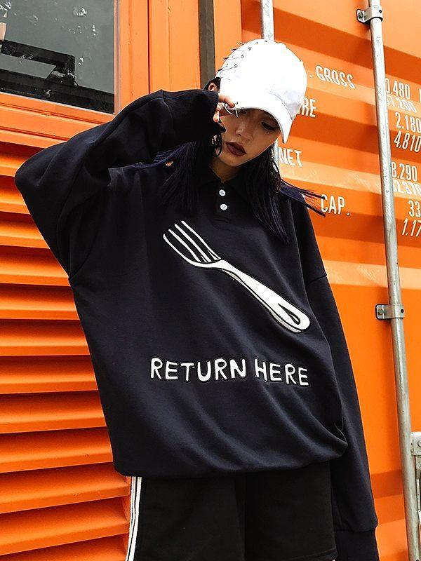 'Return Here' Fork Sweater | Baekhyun – EXO