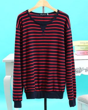 exo-peter-pan-red-black-striped-sweater