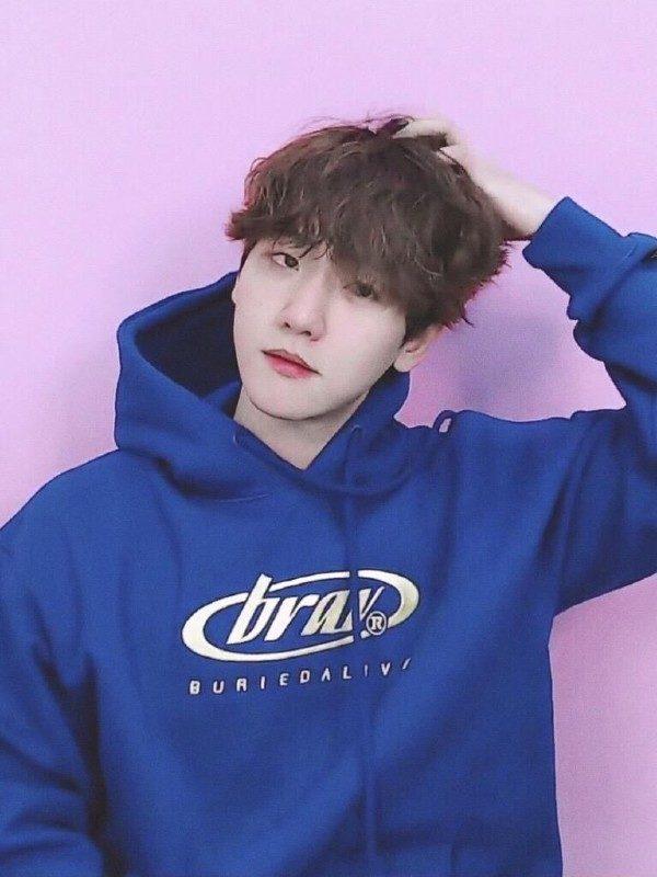 Blue Hoodie | Baekhyun – EXO
