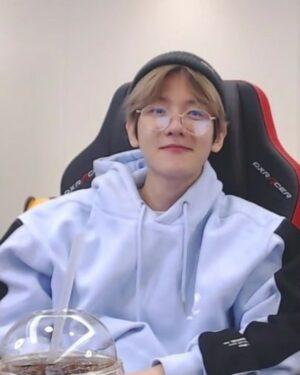 Light Blue Hoodie | Baekhyun – EXO