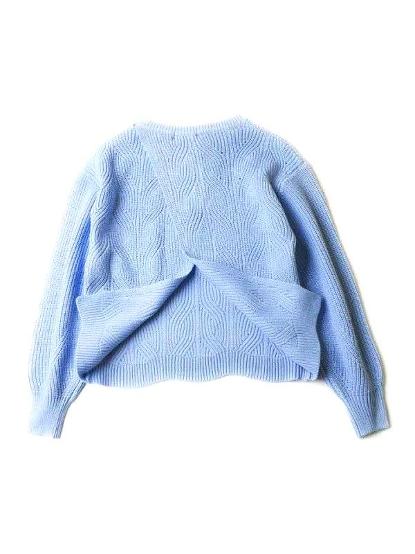 Sweater With Parted Back | IU