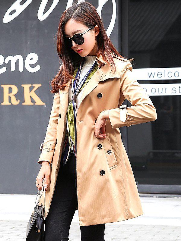 Chic Beige Coat | Do Bong Soon – Strong Woman Do Bong Soon