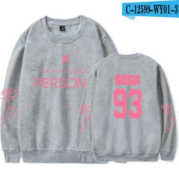 Grey BTS Persona Sweater