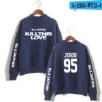 BlackPink Kill This Love Blue Turtleneck Sweater