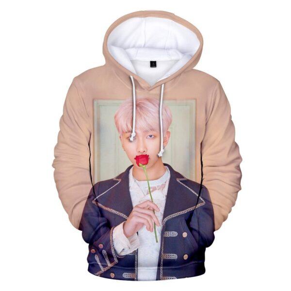 BTS Persona 3D Hoodie RM