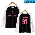Black BTS Persona Raglan Shirt