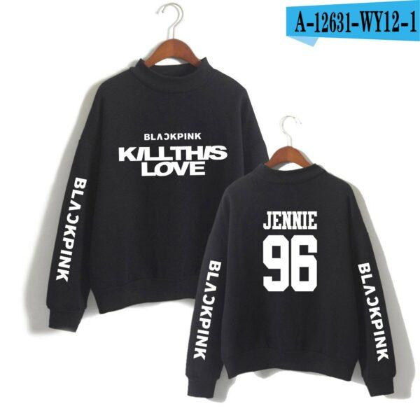 BlackPink Kill This Love Black Turtleneck Sweater