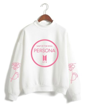BTS Persona Logo Turtleneck Sweater