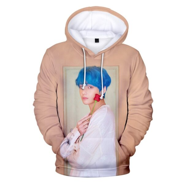 BTS Persona 3D Hoodie Taehyung