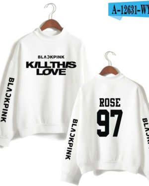 BlackPink Kill This Love White Turtleneck Sweater