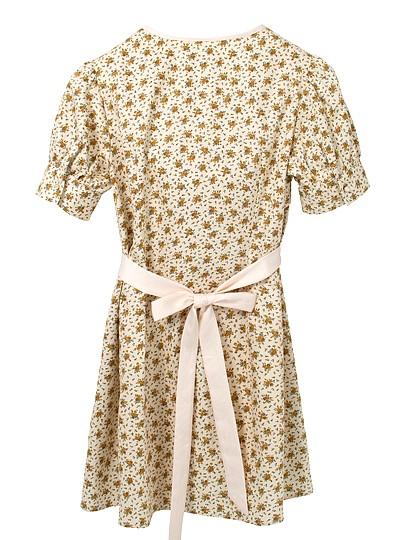 Beige Flower Dress | Jisoo – BlackPink