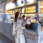 Beige Airport Fashion Coat | Lisa – BlackPink