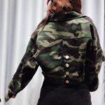 Camouflage Cropped Jacket | Lisa – BlackPink