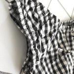 Checkered Beach Top | Lisa – BlackPink