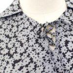 Grey Flower Dress | Lisa – BlackPink
