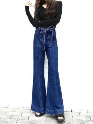 blackpink-rose-blue-wide-jeans