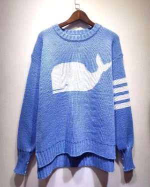 bts-jin-blue-whale-sweater
