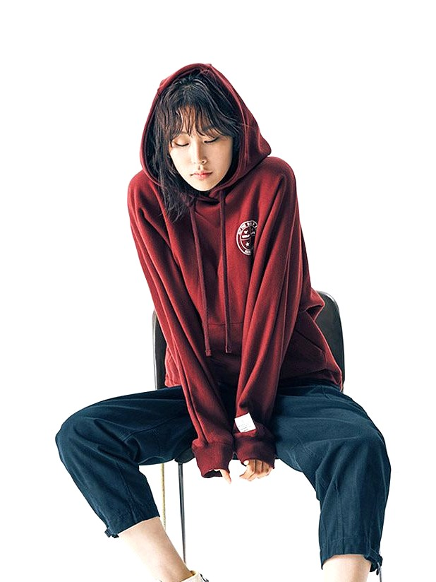 Hit the Bulls Eye Red Hoodie   Ji Eun-Tak – Goblin