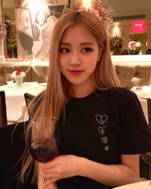 Black Love Shirt | Rose – BlackPink