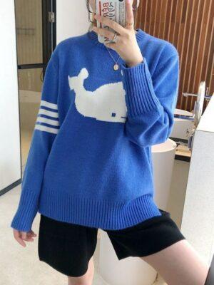 Jin Blue Whale Sweater (13)