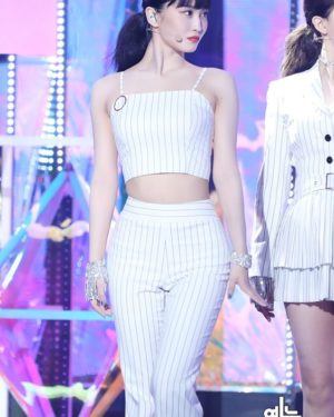 Striped Crop Top | Momo – Twice