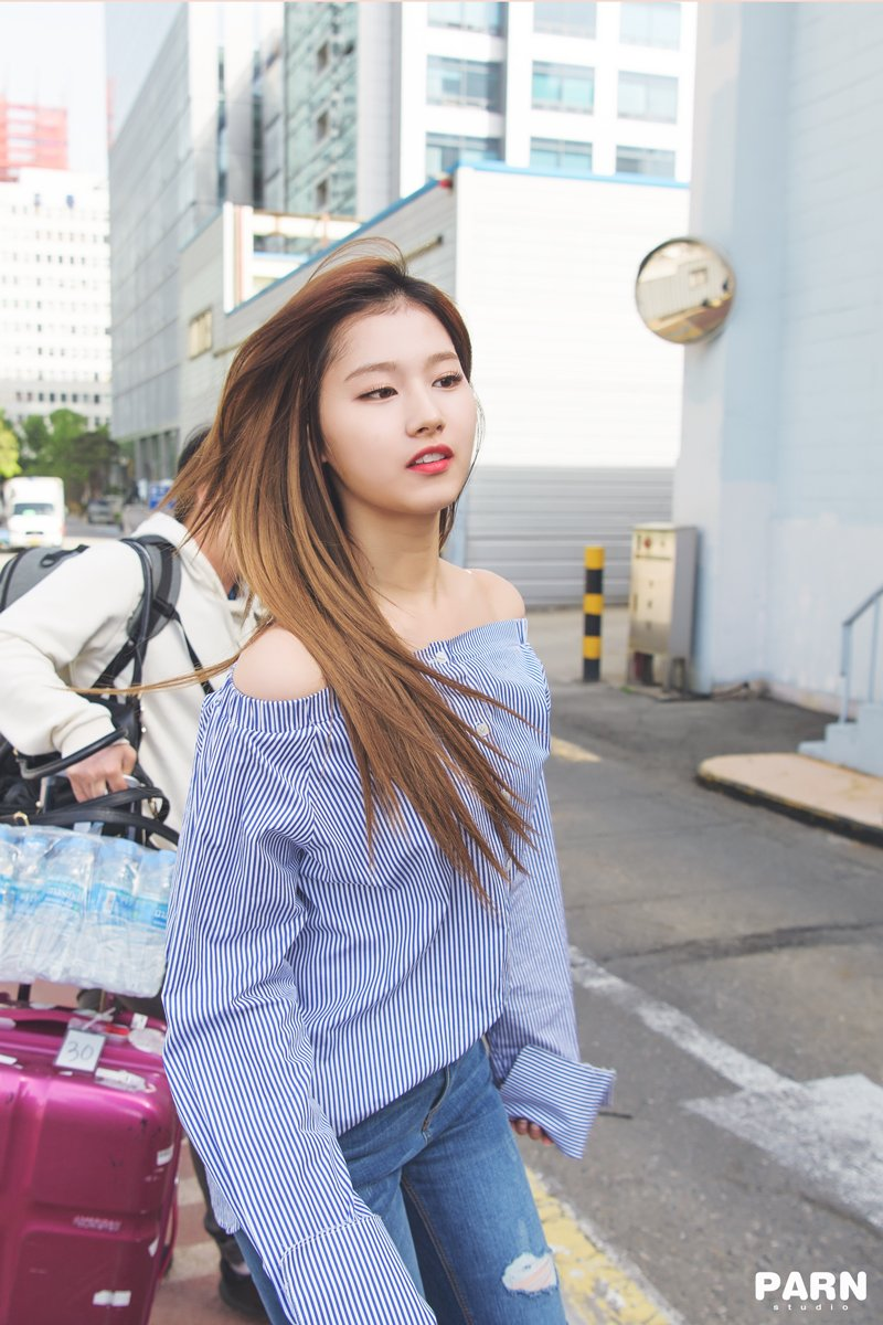 Blue Shoulder Free Blouse | Sana – Twice