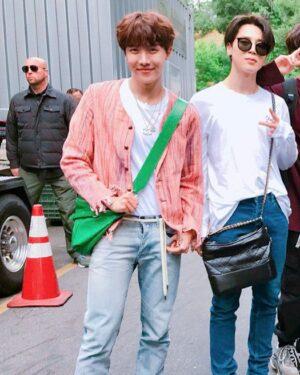 Pink Hemp Cardigan | J-Hope – BTS