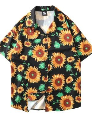 bts-taehyung-sunflower-shirt