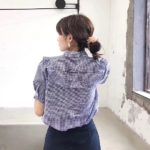Cute Blouse With Roufle | Irene – Red Velvet