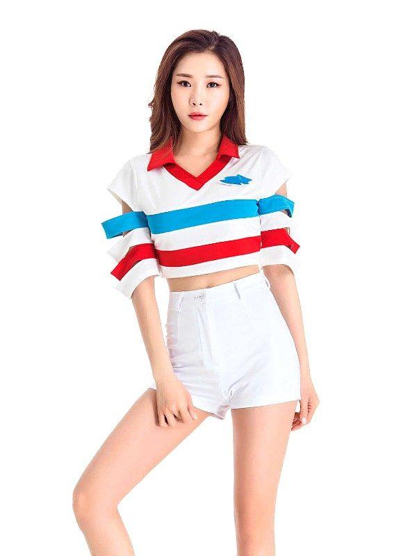 Cheerleader Uniform Set | Seulgi – Red Velvet
