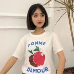 Apple Pomme T-Shirt | Chung Ha