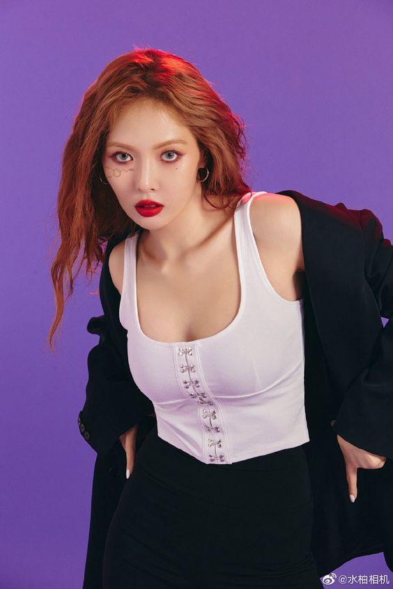 Cherry Buckle Bodysuit | Hyuna
