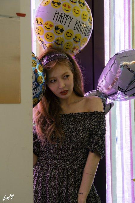 Off-Shoulder Floral Long Dress | Hyuna